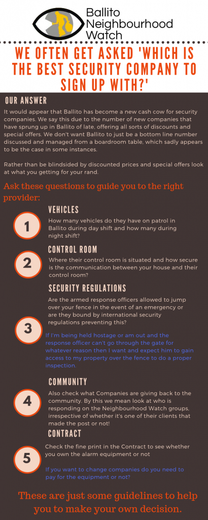 Security Companies - How to pick the right one for you