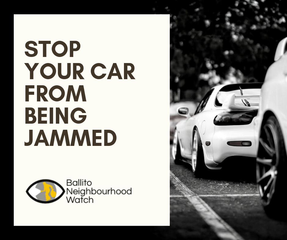 Stop your car from being jammed