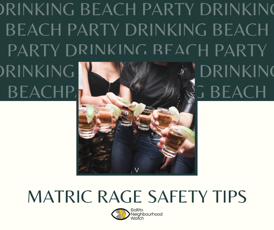 Safety Tips for Matric Rage