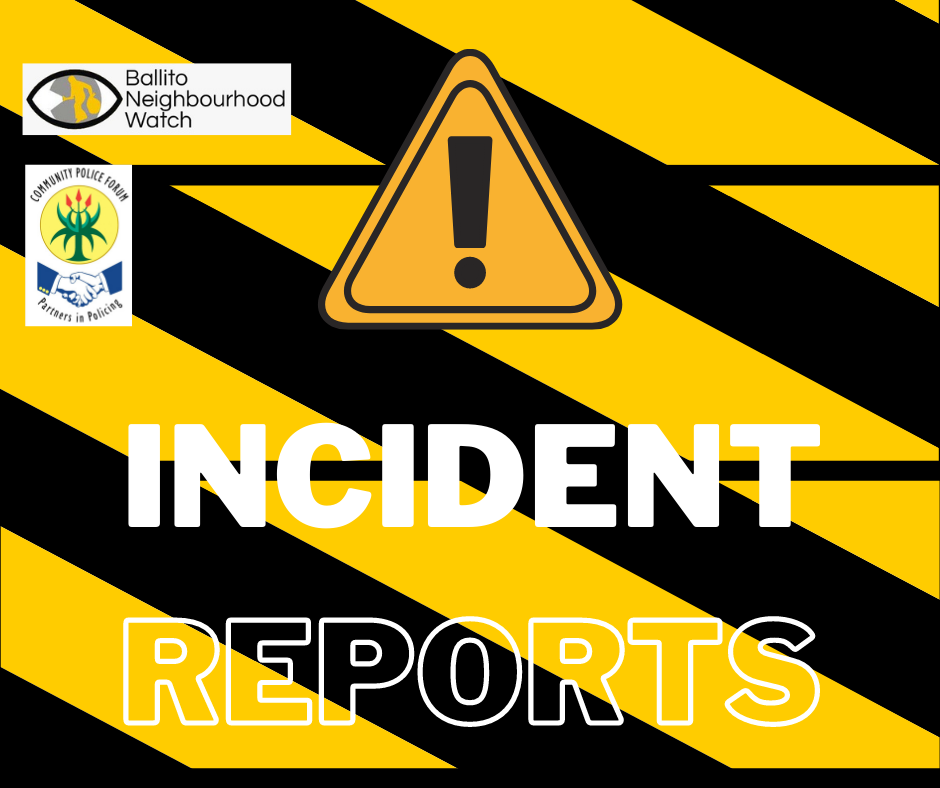 Incident Report – 21 Jan 2021